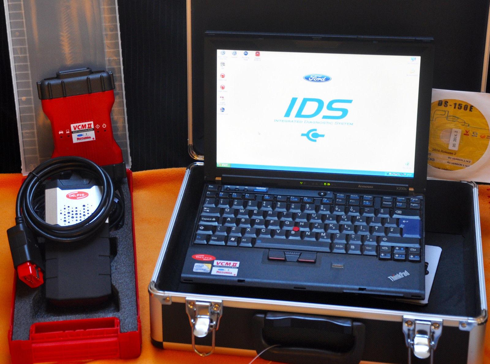 full auto diagnostic laptop with ford vcm dealer level ids. Black Bedroom Furniture Sets. Home Design Ideas