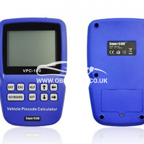The world's first Hand-held vehicle pincode calculator