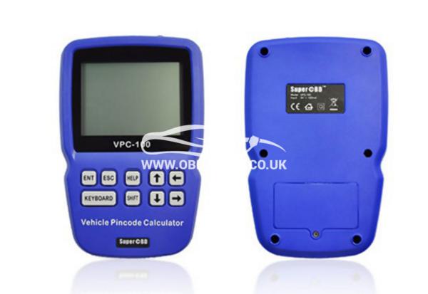 The world's first Hand-held vehicle pincode calculator