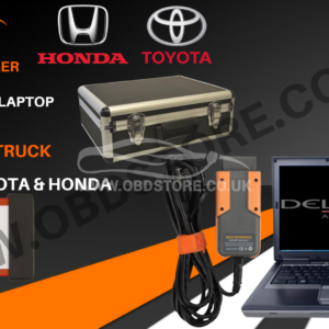 Diagnostic laptop kit + MDP, Car Van and Truck + MVCI for Toyota & Honda
