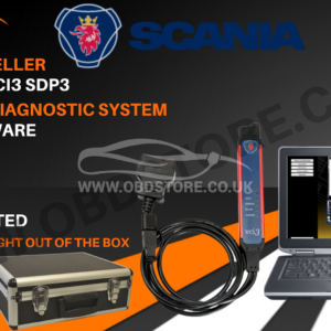 HGV SCANIA VCI3 SDP3 DEALER LEVEL DIAGNOSTIC