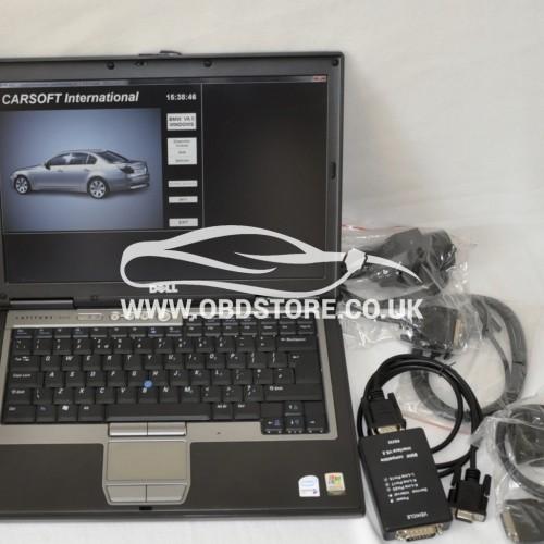 Car Diagnostic Laptop BMW carsoft 6.5 INPA
