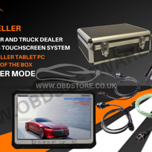 MERCEDES SD C4 CAR AND TRUCK DEALER LEVEL DIAGNOSTICS TOUCHSCREEN SYSTEM