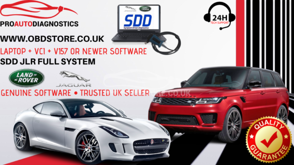 JAGUAR LANDROVER DIAGNOSTICS LAPTOP + VCI + V155 SOFTWARE