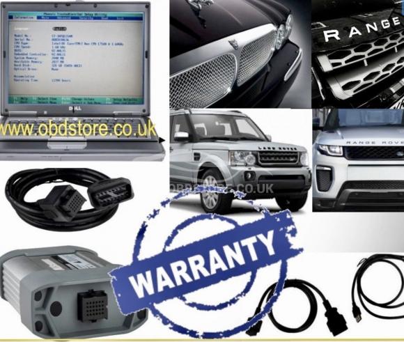 Jaguar Land Rover/Range Rover Diagnostics kit SDD JLR