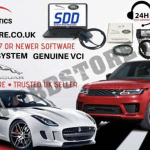 JLR SDD JAGUAR LAND ROVER DIAGNOSTICS LAPTOP Genuine VCI V158 SOFTWARE Update