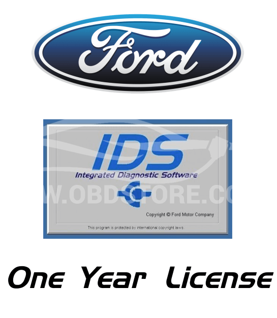 genuine Ford IDS License 12 Month Subscription